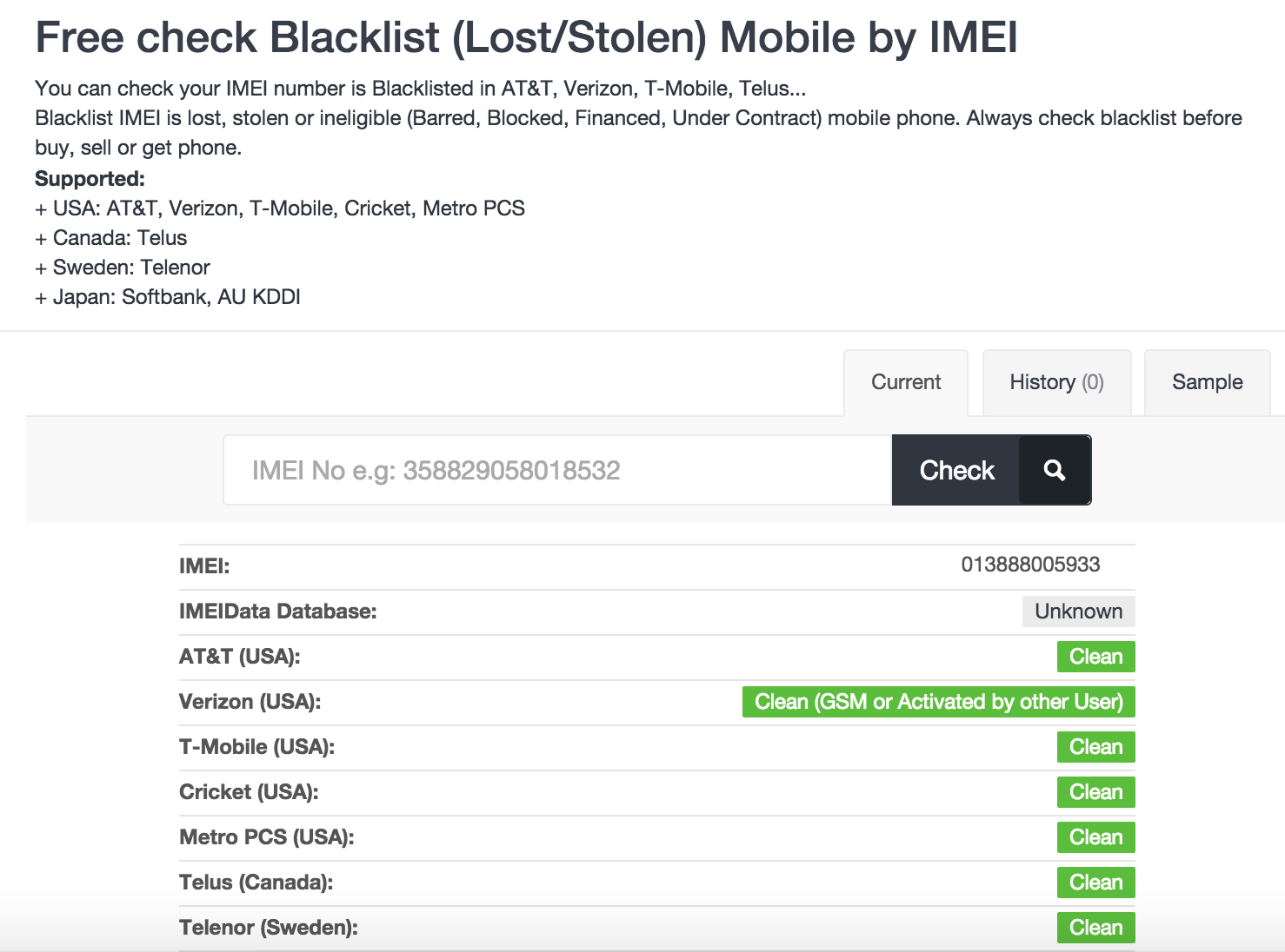 How to check if your iphone is Blacklist