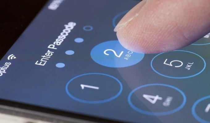 Find phone number, email locked iphone