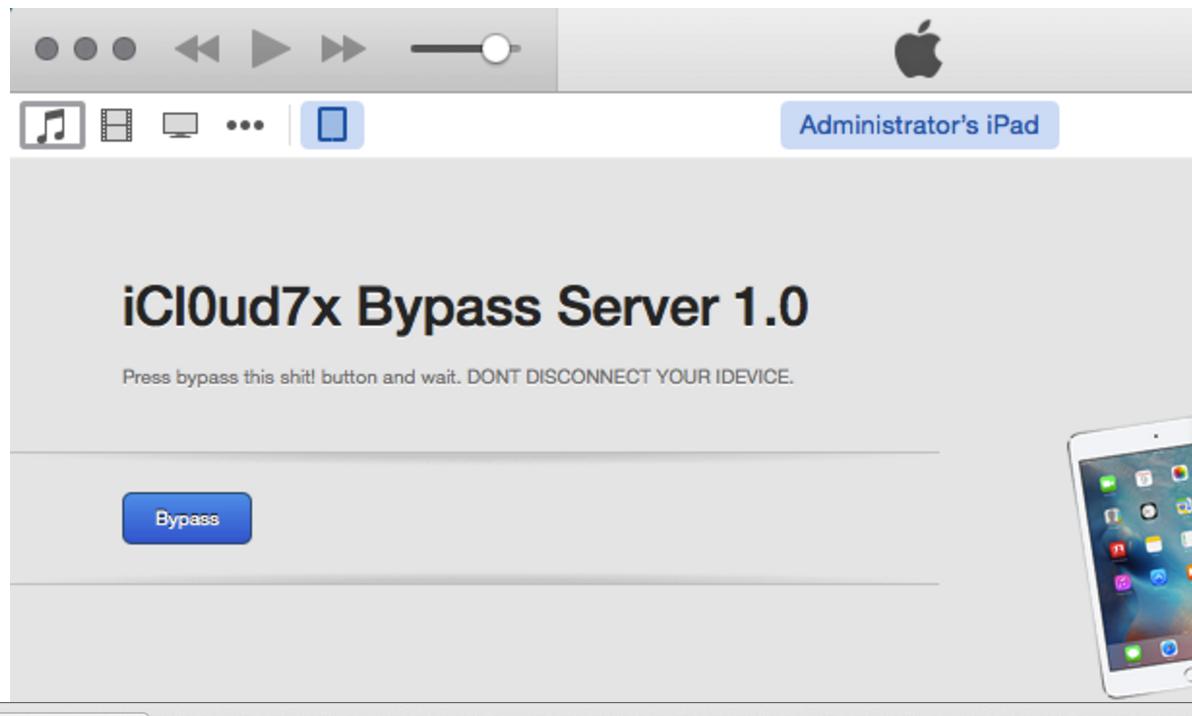 free icloud bypass unlock ios 7.1.2