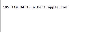 host server ip icloud bypass