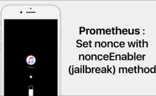 downgrade iPhone 7 prometheus
