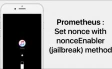 downgrade iPhone 7 prometheus
