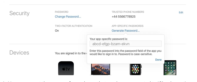 icloud password updated